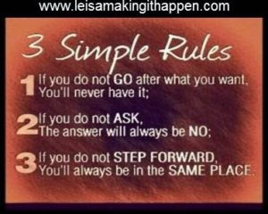 Three Simple Rules 072816